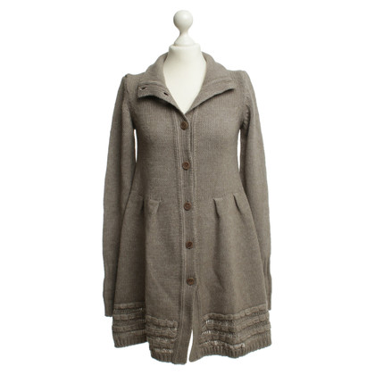 Liu Jo Cardigan in marrone e beige mix