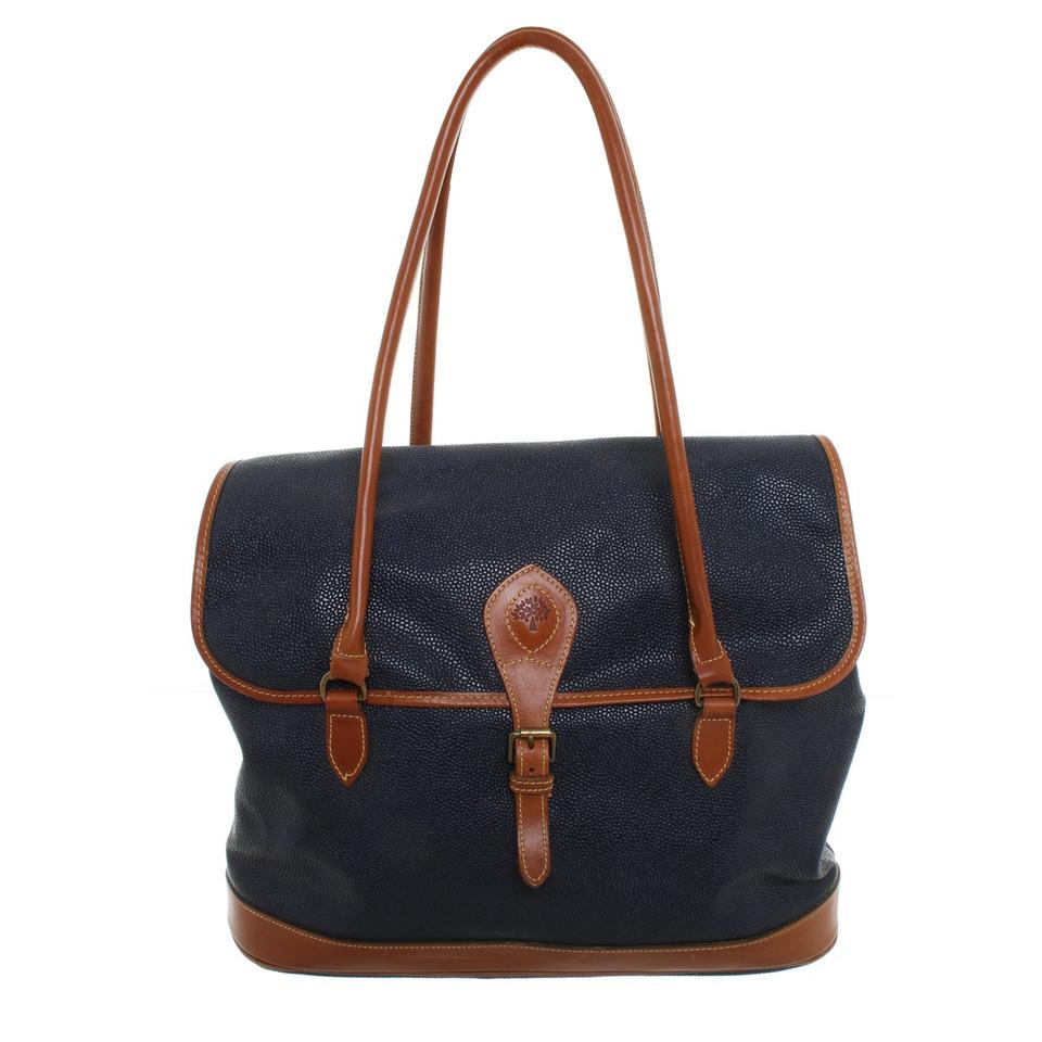 Mulberry Tassen Bijenkorf : Mulberry tas in blauw bruin koop tweedehands