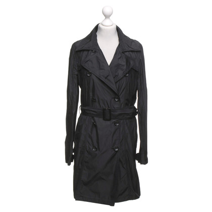 Marc Cain Trenchcoat in antraciet