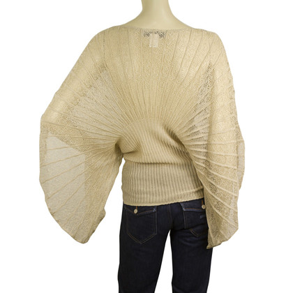 Paul & Joe knit butterfly wing sleeves top