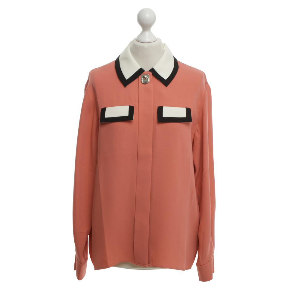 Issa Blouse in oudroze