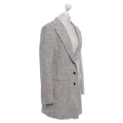 Laurèl giacca bouclé in beige