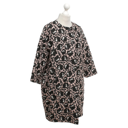 Max Mara Evening coat with jacquard pattern