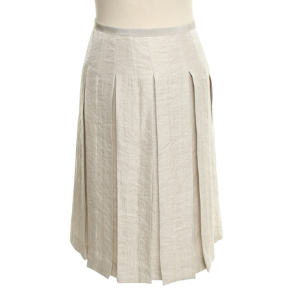 Turnover Silver colored skirt