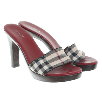 Burberry Sandalen Leather