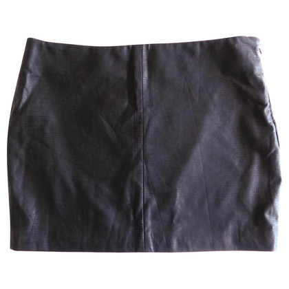 Max Mara Faux leather skirt