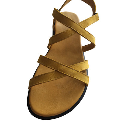 Hache Yellow Sandals