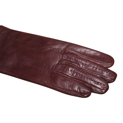 Hermès Leather gloves in Brown