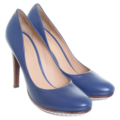Bottega Veneta Pumps in Blau