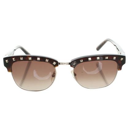 Valentino Sonnenbrille mit Nietenbesatz