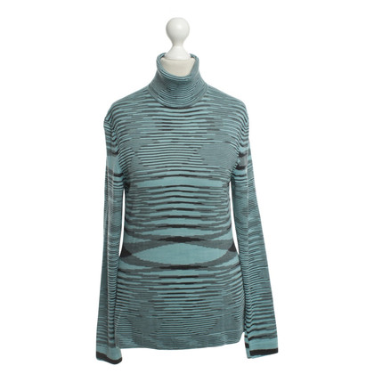Missoni Turtleneck Sweater with pattern