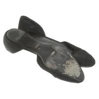 Giorgio Armani Ballerina's in zwart