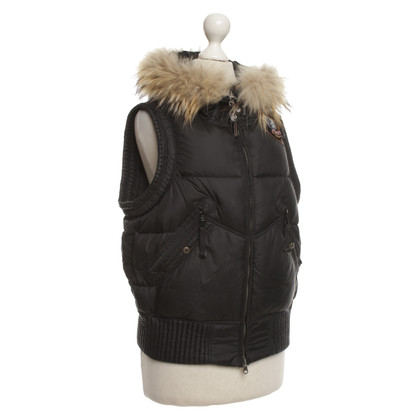 Parajumpers Vest in nero