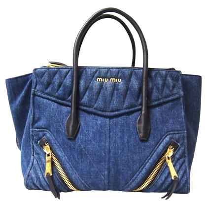 Miu Miu Shoppers made of denim