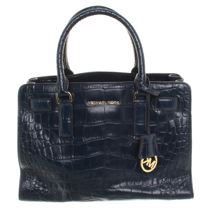 Michael Kors Handbag with crocodile embossing