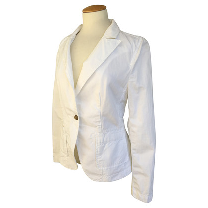 Drykorn Blazer with linen share