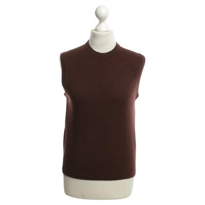 Hermès Cashmere sweater in brown