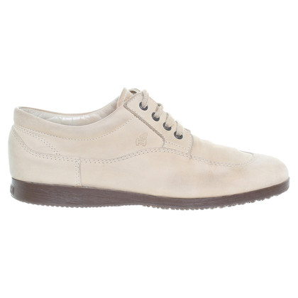 Hogan Scarpe stringate in beige
