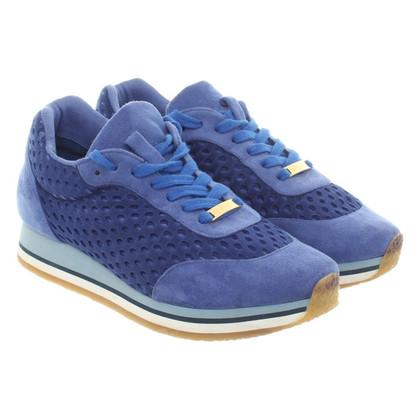 Stella McCartney Chaussures de sport dans des tons bleu