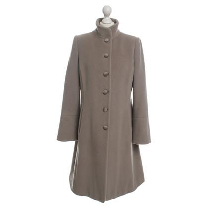 Armani Collezioni Taupefarbener winter coat