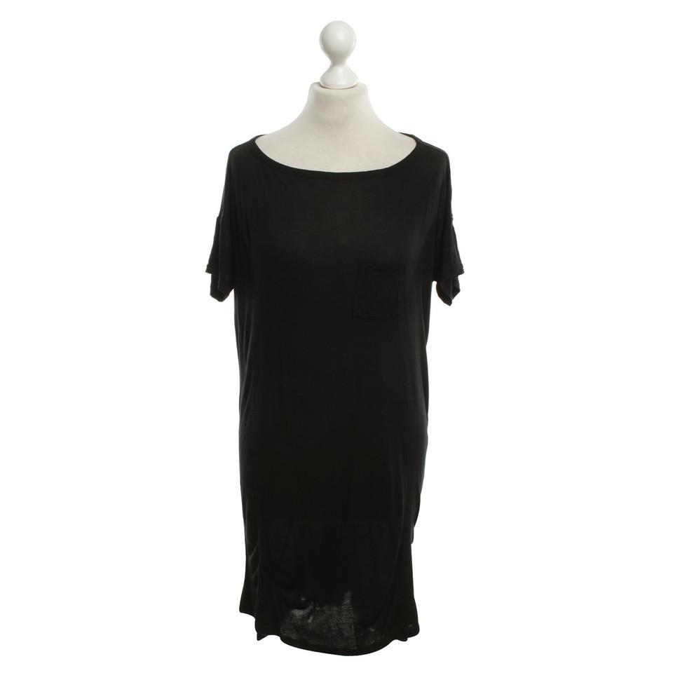 kleidung oberteile t by alexander wang t shirt kleid in schwarz. Black Bedroom Furniture Sets. Home Design Ideas