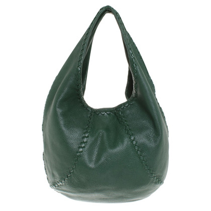 Bottega Veneta Leather handbag in green