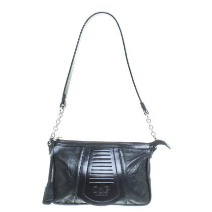 Dolce & Gabbana Shoulder bag in black leather