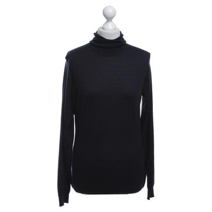 Jil Sander Turtleneck sweater in blue