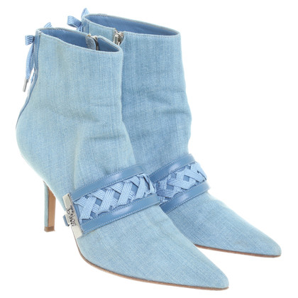 Christian Dior Ankle boots from denim