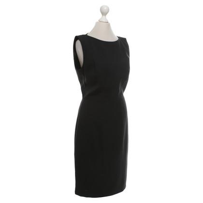 Hugo Boss Schede jurk in zwart