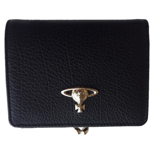 fc6380c6dc Vivienne Westwood Bag/Purse Leather in Black - Second Hand Vivienne ...