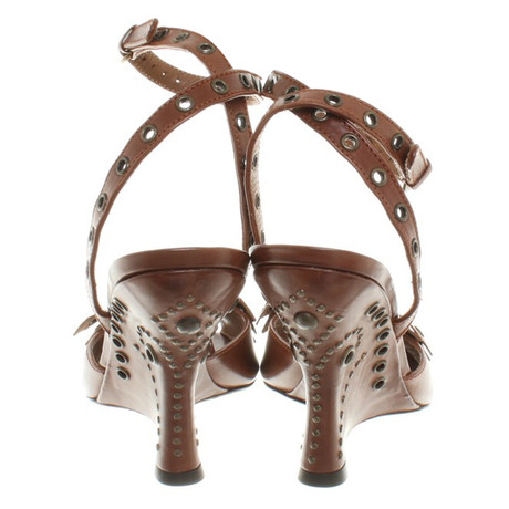 Lopez Sandaletten Lopez mit Braun Braun Pura Pura Keilabstaz Pura mit Lopez mit Sandaletten Keilabstaz Sandaletten C8vqB