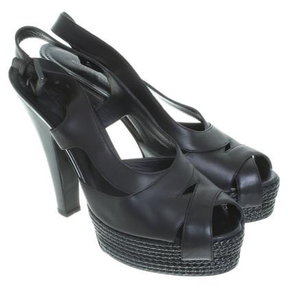 Bottega Veneta Zwarte sandalen