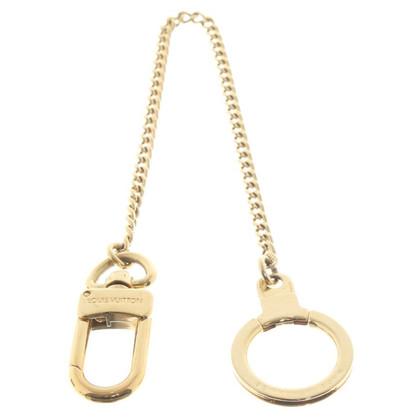 Louis Vuitton Schlüsselring mit Kette