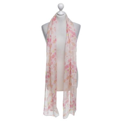Riani Spotted silk scarf