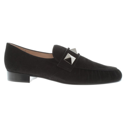 Valentino Black Loafer with rivets