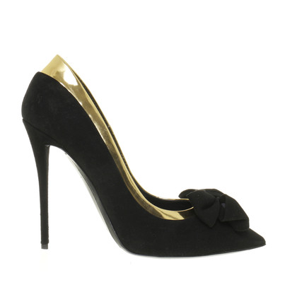 Giuseppe Zanotti Pumps loop with metallic element