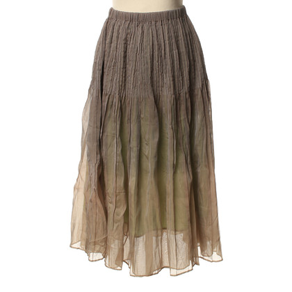 Issey Miyake Summer skirt rayon/silk