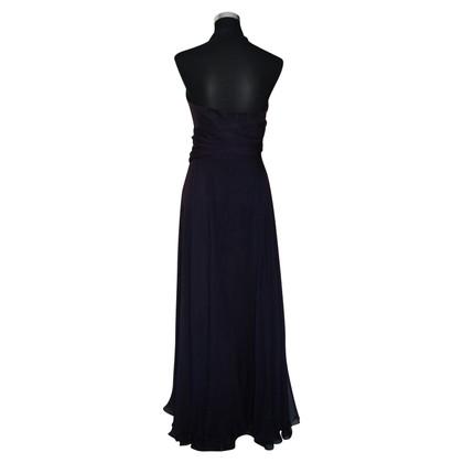 Talbot Runhof Avond zijden jurk