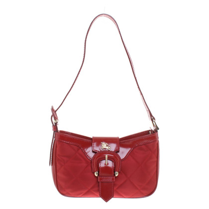 Burberry Schultertasche in Rot