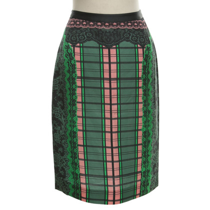 Other Designer Emma Cook - skirt with pattern
