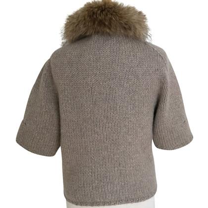 Steffen Schraut Cardigan with fur