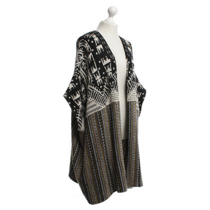 Antik Batik manteau en tricot longue