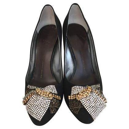 Giuseppe Zanotti High heels with Rhinestones