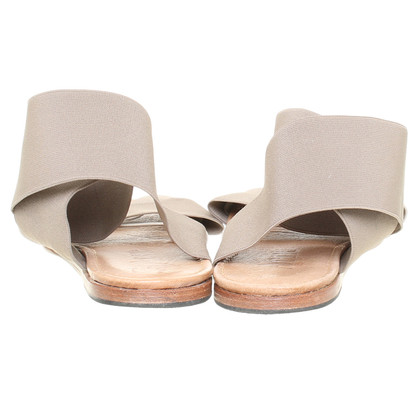 Acne Sandalo con cinturini multicolore