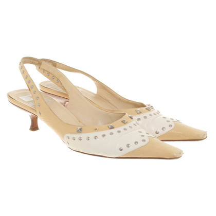 Moschino pumps in pelle