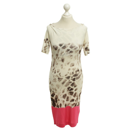 Just Cavalli Dress with leopard pattern