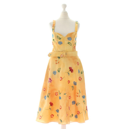 Ella Singh Yellow dress with flowers