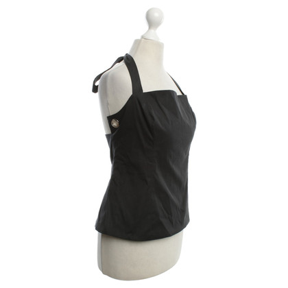 Prada Neckholder top in black
