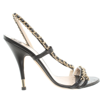 D&G Sandaletten aus Leder